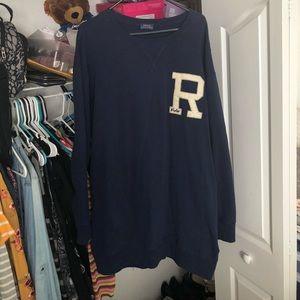 Polo Ralph Lauren navy blue sweater dress